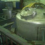 600 Gal. Catalyst Tank & 4,000 Gal. reactor