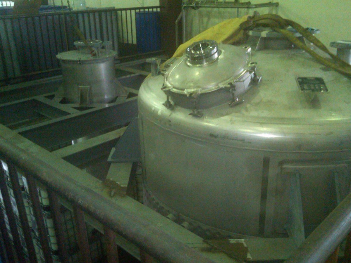Catalyst-Tank